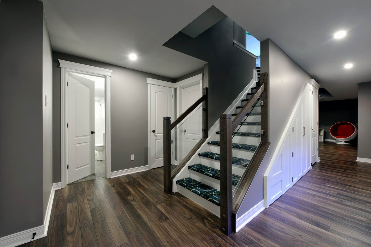 Basement Stair Trim: Meet The Finalist: A Turtle-y Awesome Basement Renovation